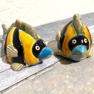 Leps Pottery Peruvian Fish Handmade Vintage